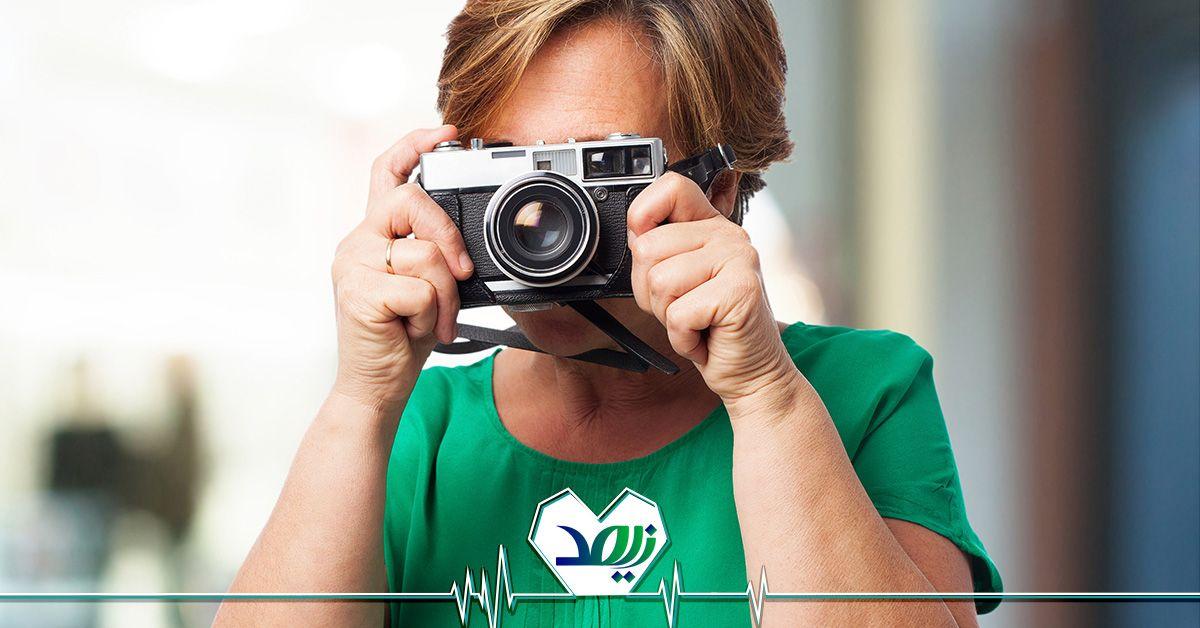 شغل عکاسی برای سالمندان