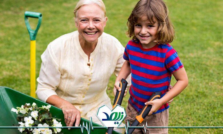 باغبانی در دوره بازنشستگی