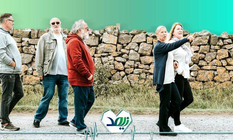 دوستیابی در دوران پیری
