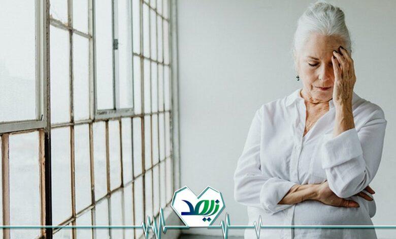 آشفتگی ذهنی در سالمندان