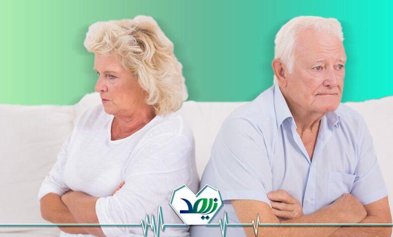 لجبازی در سالمندان