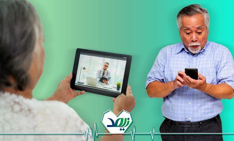 تصویر از اهمیت استفاده از تکنولوژی برای سالمندان