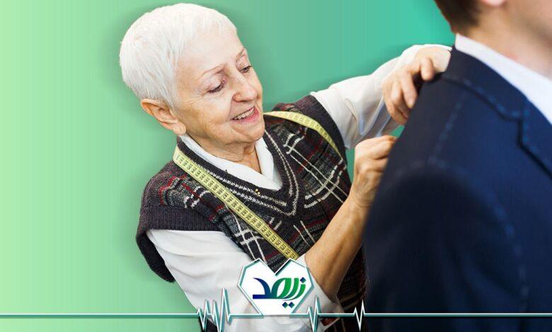 تصویر از طراح مد و لباس شغلی جذاب برای سپری کردن دوران بازنشستگی