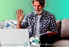 معلم آنلاین در دوران بازنشستگی