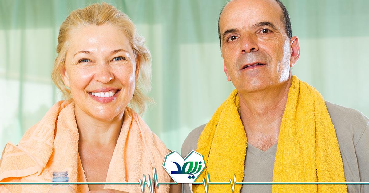 تمرین های کششی برای سالمندان