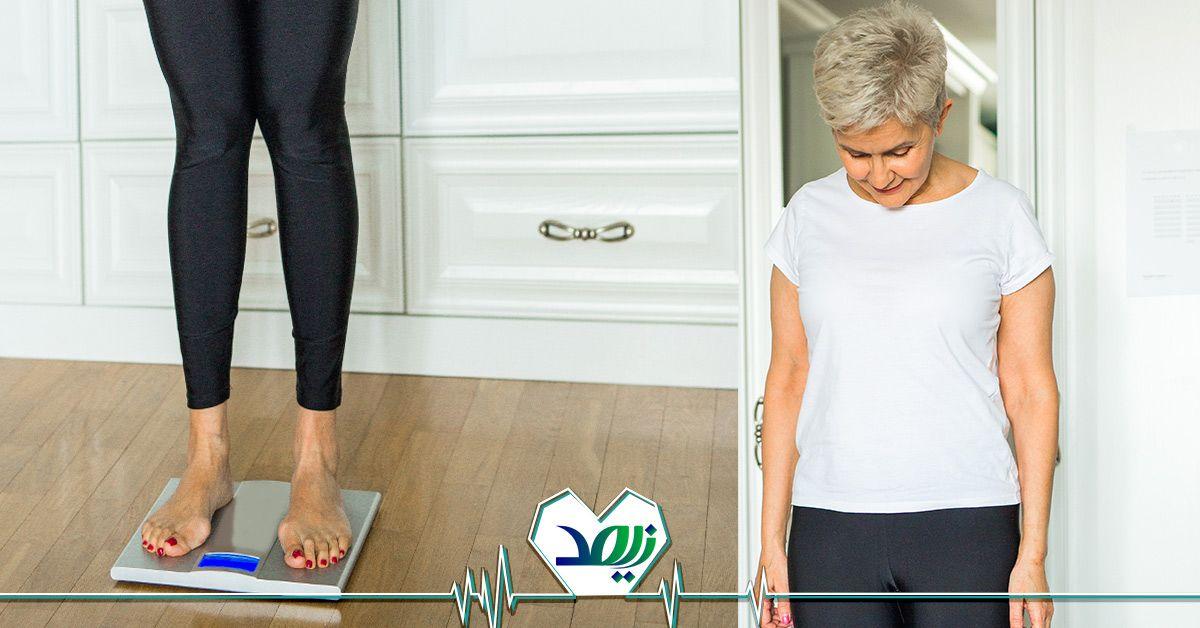 درمان لاغری مفرط در سالمندان