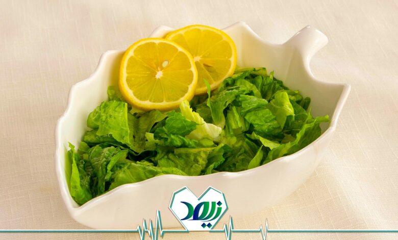 مصرف سبزیجات برای سالمندان