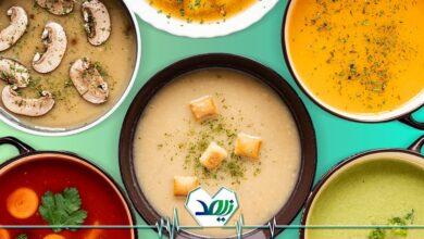 سوپ مقوی برای سالمندان