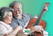 موسیقی درمانی برای سالمندان