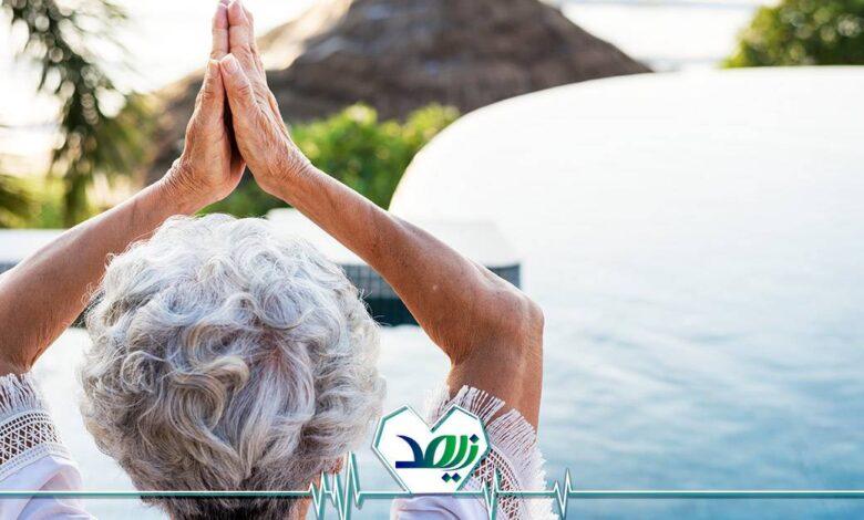 آب درمانی برای سالمندان