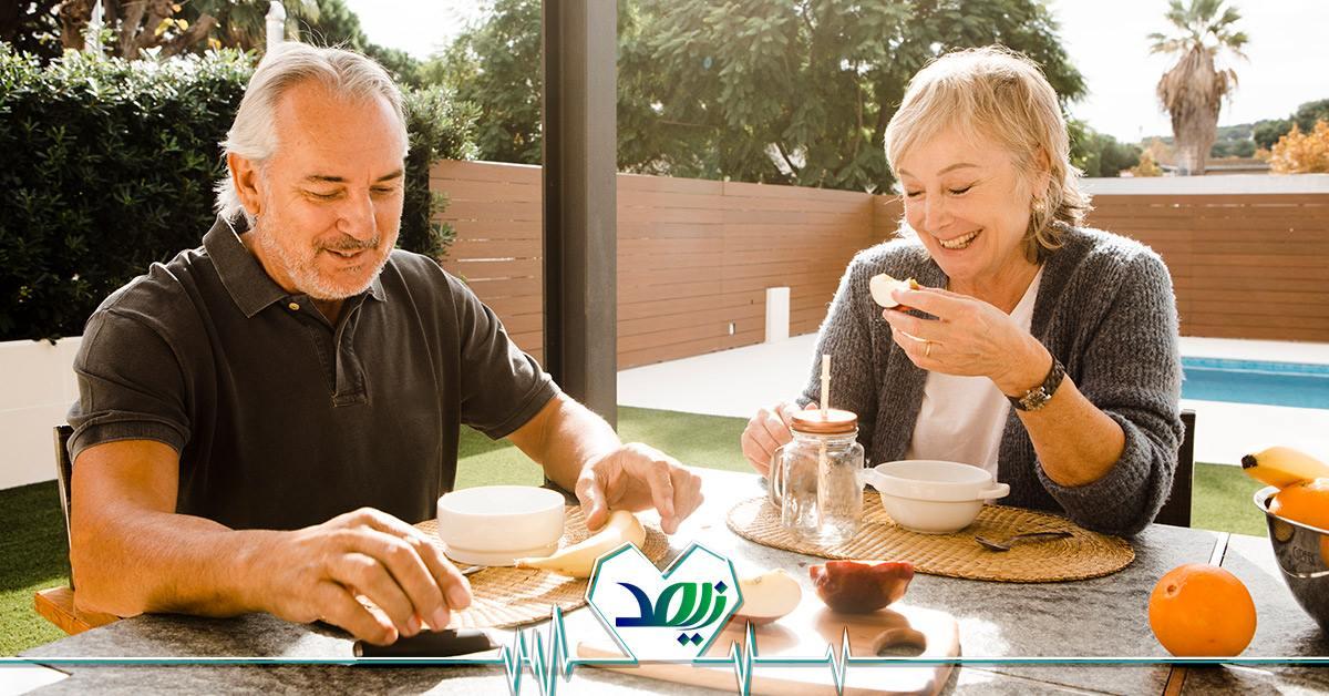 لیست غذاهای کمکی برای افراد مسن