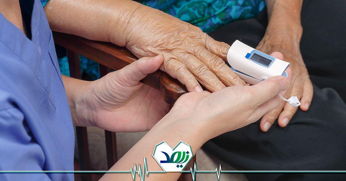 دستگاه اکسیژن ساز خانگی سالمند