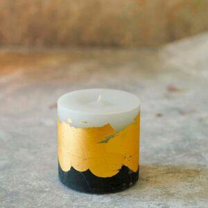 شمع روکش طلایی